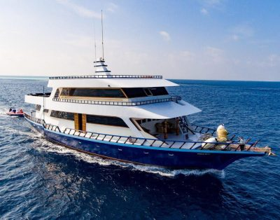 Modern Boat from Male for Daily Rent – Maldives